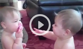 cute twins video
