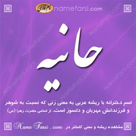 Hanie name