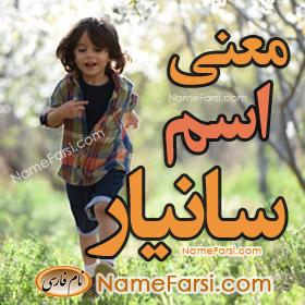 Sanyar name meaning