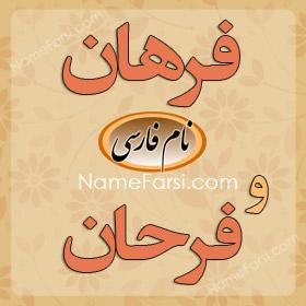 Farhan name meaning