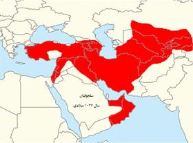 نقشه ایران دوره سلجوقیان