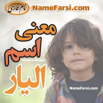 Elyar name meaning