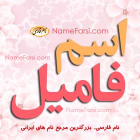 اسم فامیل
