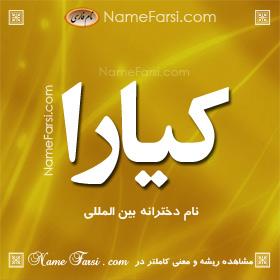 Kiara name