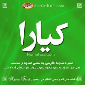 Kiara name meaning