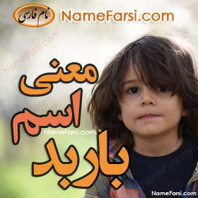 Barbad name meaning