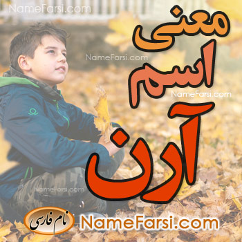 Aren name meaning